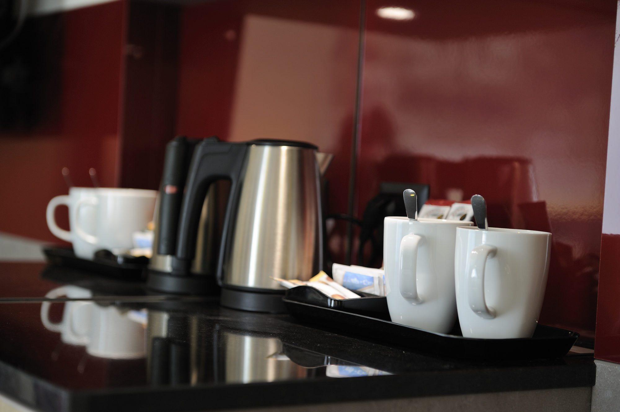 Gratis Kaffee und Tee im Zimmer